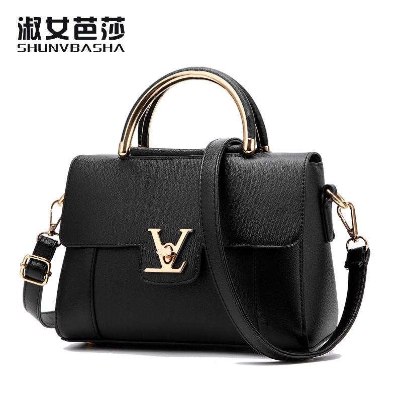 Designer Bags Clutch-Bag Messenger-Bags Main Femme-Handle Fake Luxury Leather Women's