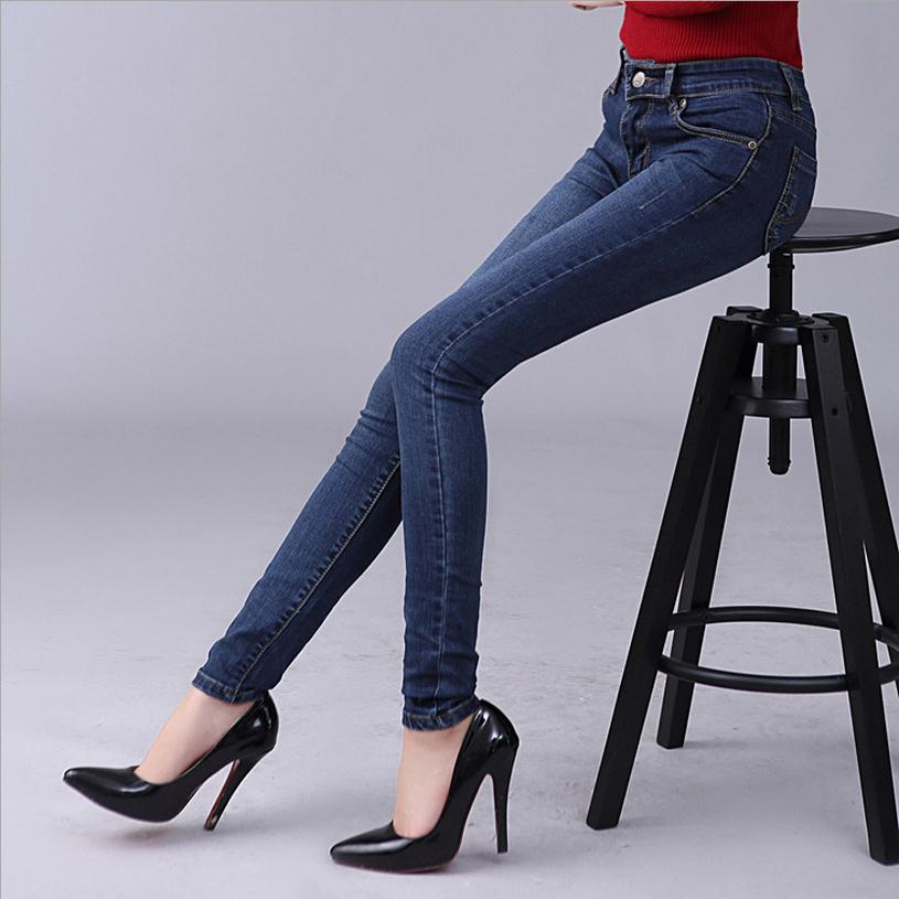 Wholesale high great quality middle waist stretch pants feet Japanese version 2017 new women s cotton