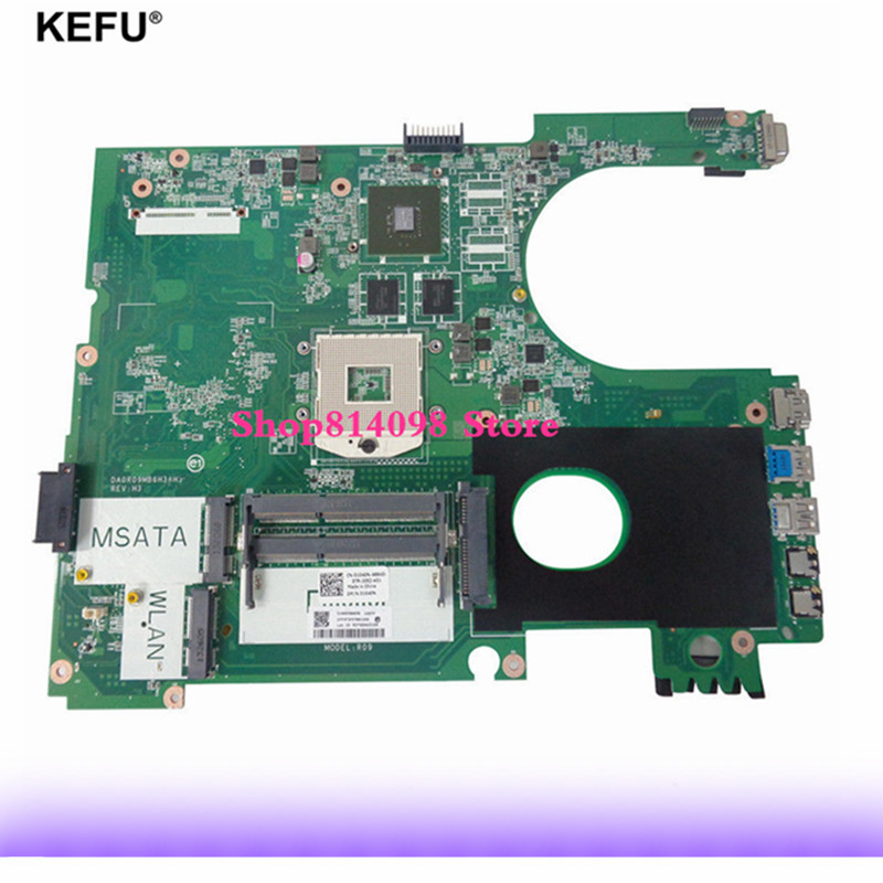 Free Shipping CN-01040N 01040N DA0R09MB6H1 5720 Motherboard For Dell INSPIRON 5720 PC Fit For Dell INSPIRON 7720 072P0M крепление для жк дисплея ноутбука dell inspiron 17r 5720 7720 r & l 80%