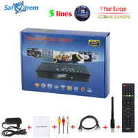 Satxtrem SuperBOX Digital Satellite Receiver Full HD DVB S S2 With Cccam Cline For 1 Year