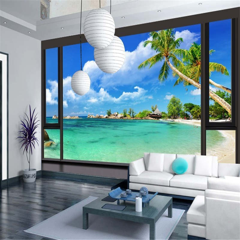 Beibehang custom 3d photo wall paper fun city wallpaper for 3d photo wallpaper for living room