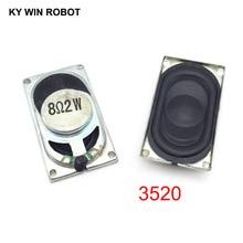 цена на 2PCS/Lot Notebook Speaker Horn 2W 8R 3520 2035 Loud speaker 8 ohms 2 Watt 8R 2W 35*20MM thickness 5.5MM