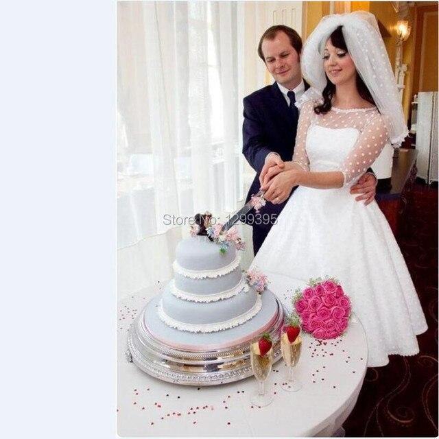 Vintage The 1950s Polka Dot Wedding Dress Bridal Dress Country