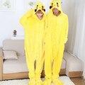 Cospaly Anime Pokemon Ir Pikachu Pijamas Adultos Onesie Pikachu de La Mascota de Halloween Trajes de Cosplay Fantasias Para Mujeres Y Hombres