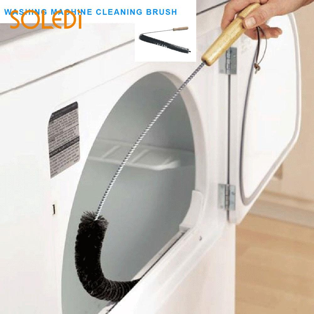Washer Cleaning Brush Economic Black Fan 72cm Household Clothes Dryer Brush Furniture Cleaning Equipment