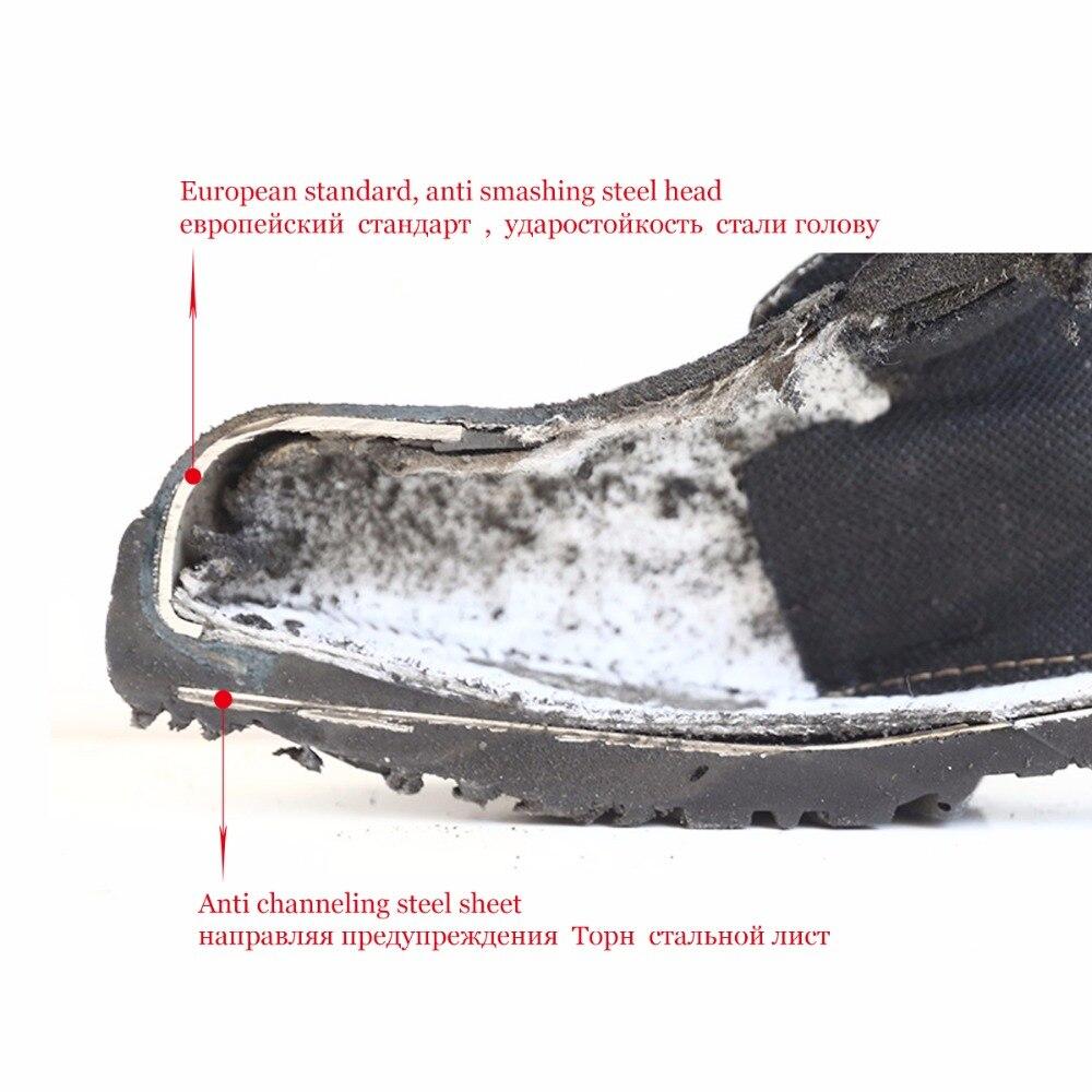 896e0c41 Aire Primavera Militar Qiangren Anticolisión Al Los Libre Trabajo  Canalización Otoño Azul Seguridad Fábrica Directo Hombres Zapatos ...