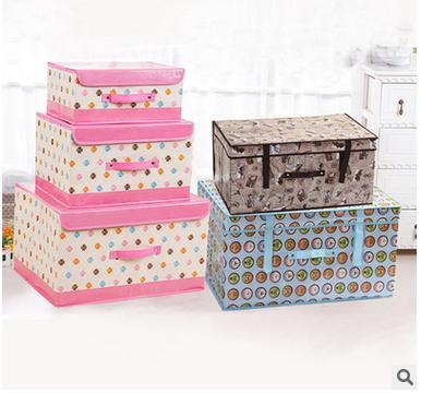 Lovely fashion diverse styles non-woven waterproof design Clothing small furniture box animal decoration storage box