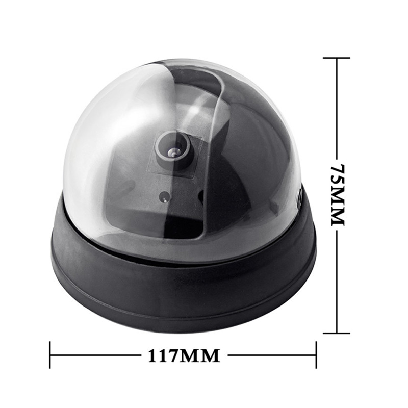 Fuers-Home-Security-Fake-Camera-Red-LED-Flash-Simulated-Camera-Indoor-Surveillance-Security-Dummy-Dome-Camera (3)