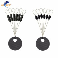 FREE SHIPPING 100pcs/bag S/M/L Stick/Olive rubber stopper terminal tackle for saltwater sea fishing Carp Fishing