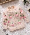 ( 1 unid/lote ) 100% algodón 2015 suéter caliente del invierno uvas suéter