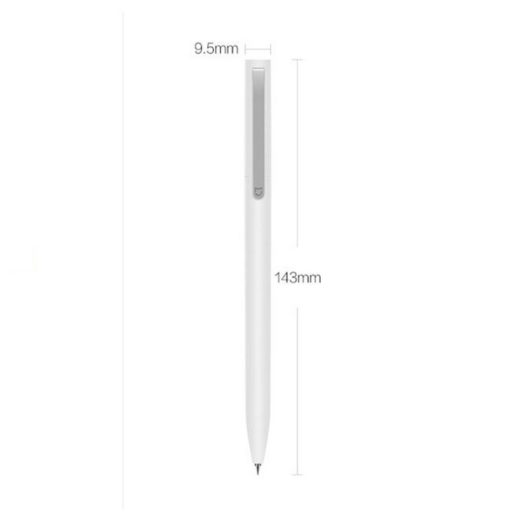 Oryginalny xiaomi podpisanie pen premec mijia znak pióra 9.5mm smooth szwajcaria mikuni japonia ink refill dodać mijia długopis czarny napełniania 15