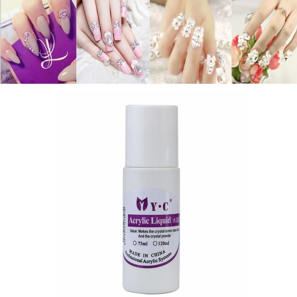 75ML Professional Nail Art System Acrylic Powder Liquid for False ...