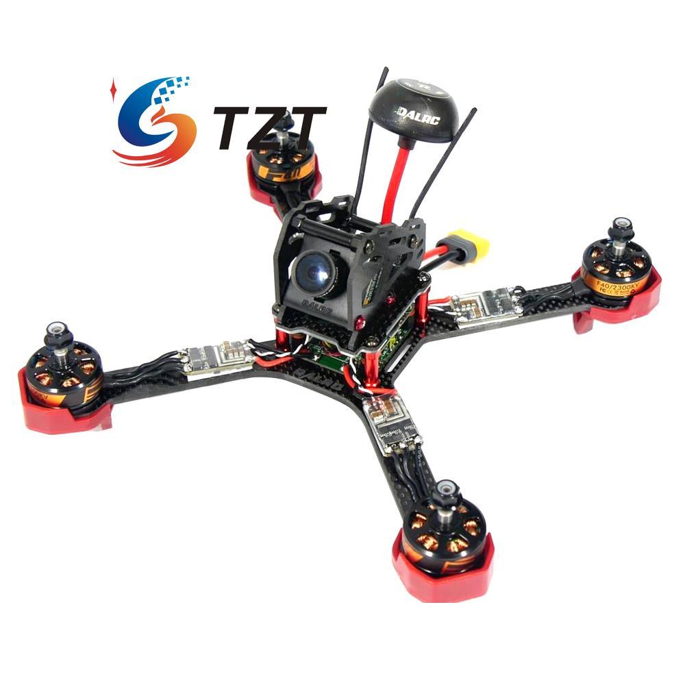 dalrc xr220 4 axis carbon fiber drone quadcopter frame with 5v 12v 3a pdb