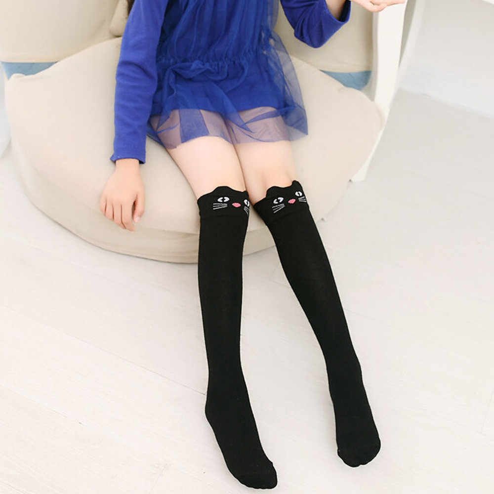 7a6293d51 Women Animal Pattern Sexy Cotton Over Knee High Stockings 1 Pair Fashion  Girl Student Children Over
