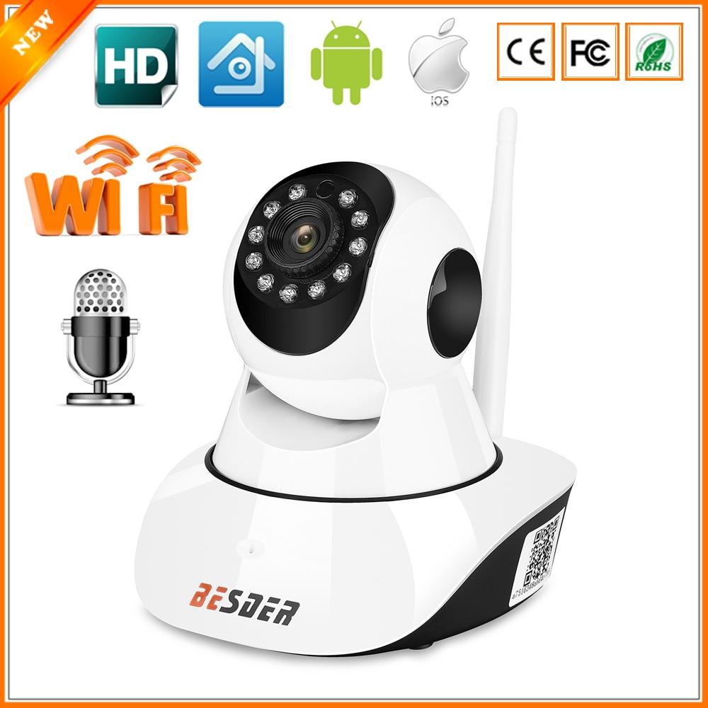 Best BESDER Wired Wifi IP Camera 720P Pan Tilt Wireless ...