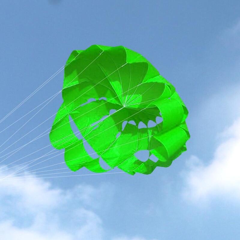 Free Shipping 2.7m Power Dual Line Stunt Parafoil Parachute Rainbow Sports Beach Kite For Beginner wei kites factory