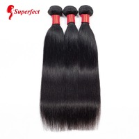 Brazilian Hair Weave Bundles Straight Hair Bundles Human Hair Extensions 3 or 4 Bundles Non Remy Hair 8 26 Natural Color