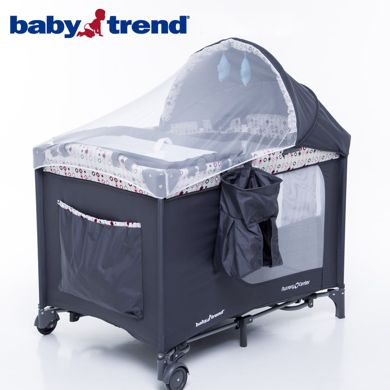 Multifunctional Baby Bed Game Bed Portable Foldable Baby Crib 0-3 Years Baby Bed with Netting Newborn Sleep Travel Bed Newest цена 2017