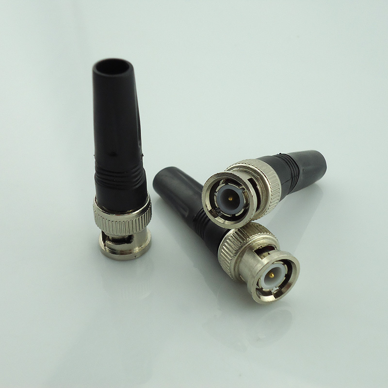 20Pcs Wholesale Bnc Connector Male For Twist-On Coaxial Rg59 Cable Bnc Male Surveillance Security System Cctv Accessories 6pcs lot coaxial cable rg59 cctv bnc connector bnc male cctv accessories for cctv video security system