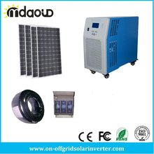 off Grid Solar Kit 9kw Solar/10kVA Inverter/Charger/200A MPPT/accessory/CALES