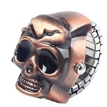 Ring Watch Fashion Unisex Retro Vintage Finger Skull Watches
