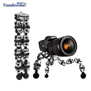 Image 1 - L حوامل كاميرا كبيرة تحميل 3 كجم Gorillapod Monopod مرنة المحولات ترايبود السفر الصغير في الهواء الطلق DSLRs كاميرات رقمية Hoders