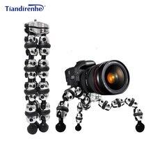 L trípodes de cámara grandes carga 3kg Gorillapod Monopod transformadores flexibles trípode Mini viajes al aire libre DSLRs cámaras digitales Hoders
