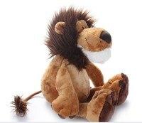 stuffed animal plush 65cm jungle lion plush toy w769