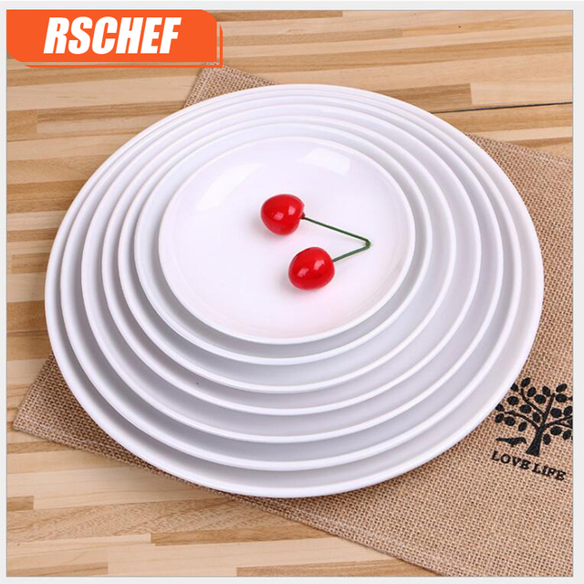 1pcs Premium Round Melamine Plates Japanese Cake Tray Tableware Household Kitchen Utensils Dessert Dishes Serving Plates  sc 1 st  AliExpress.com & 1pcs Premium Round Melamine Plates Japanese Cake Tray Tableware ...
