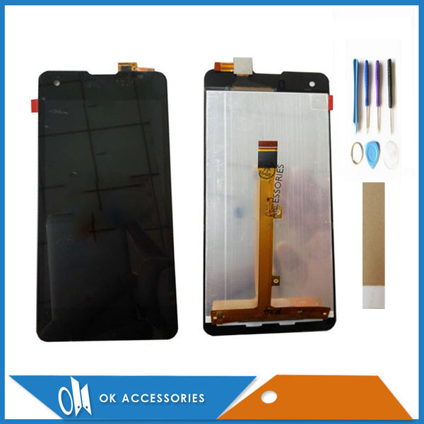 For Highscreen Omega Prime S LCD Display+Touch Screen Digitizer Assembly High Quality Black Color With Tools Tape For Highscreen Omega Prime S LCD Display+Touch Screen Digitizer Assembly High Quality Black Color With Tools Tape