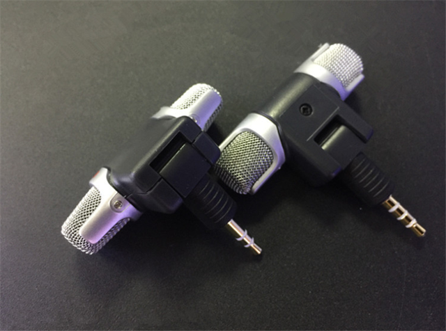 Accessories Mini 3.5mm Jack Stereo Smartphone Microphone Mic 3.5MM