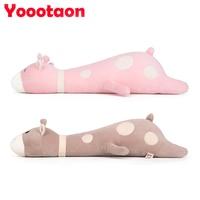 70cm Kawaii Giraffe Emoji Plush Sleeping Pillow Kids Toy Cute Soft Baby Toys Stuffed Dolls For
