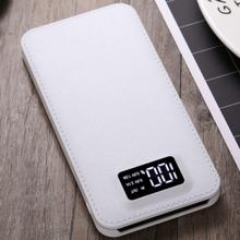 Slim 20000 mAh Power Bank Portable Ultra-thin Polymer Powerbank battery power-bank With LED Light Fast Charger for Mobile Phone