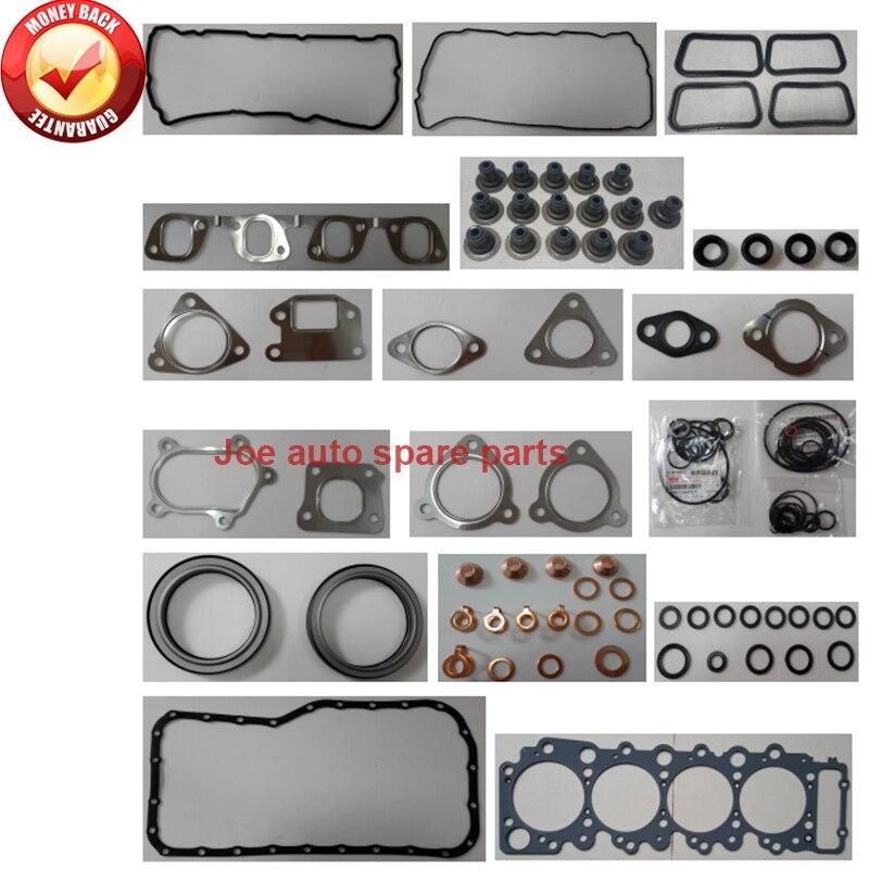 4hl1 4hl1-n 4hl1-tc 4hl1-tcs Engine Full Gasket Set Kit For Isuzu Npr Nkr Elf 4.8l 4.777 Cc 16v Gaskets