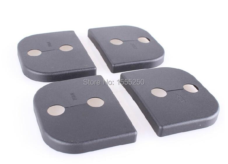Автоматический дверной замок с пряжкой, амортизирующее устройство pad для geely GX7, SX7, идеально подходит для suzuki SX4, swift, 4 шт./лот, автомобильные аксессуары