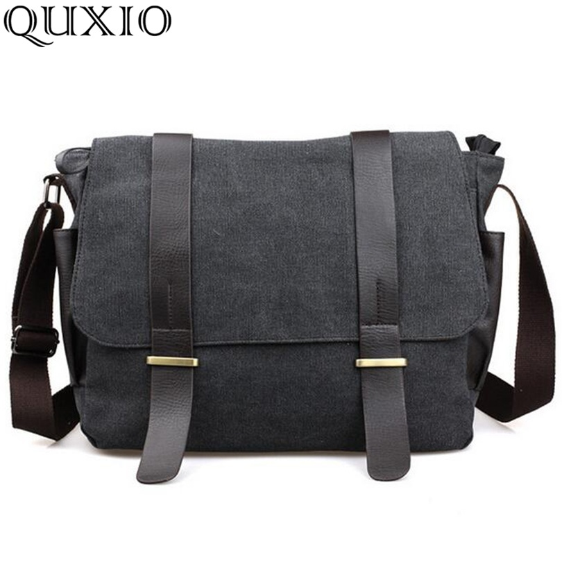 Canvas Crossbody Bags Travel Bags Design Messenger Shoulder Laptop Bag Tote Briefcase CH01