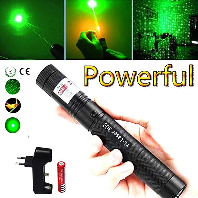 ירוק לייזר מצביע ציד טקטי sight ירוק דוט טקטי 532 ננומטר 5 mW לייזר 303 מצביע ורדה לייזר עט שריפה התאמה