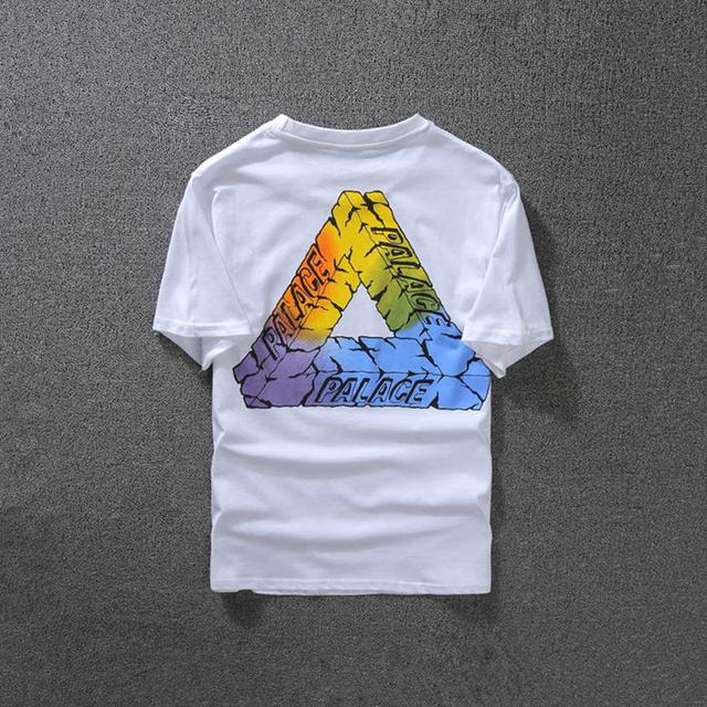 2017 palácio de estilo verão camiseta homens camisetas de algodão de manga curta causal palácio palácio skates camiseta clothing xxl