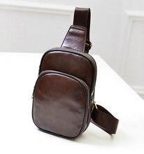 Новая горячая/искусственная кожа мужская сумка на грудь/Корейская Мода Повседневная Ретро плечо диагональная сумка/прилив мужская сумка-мессенджер сумки