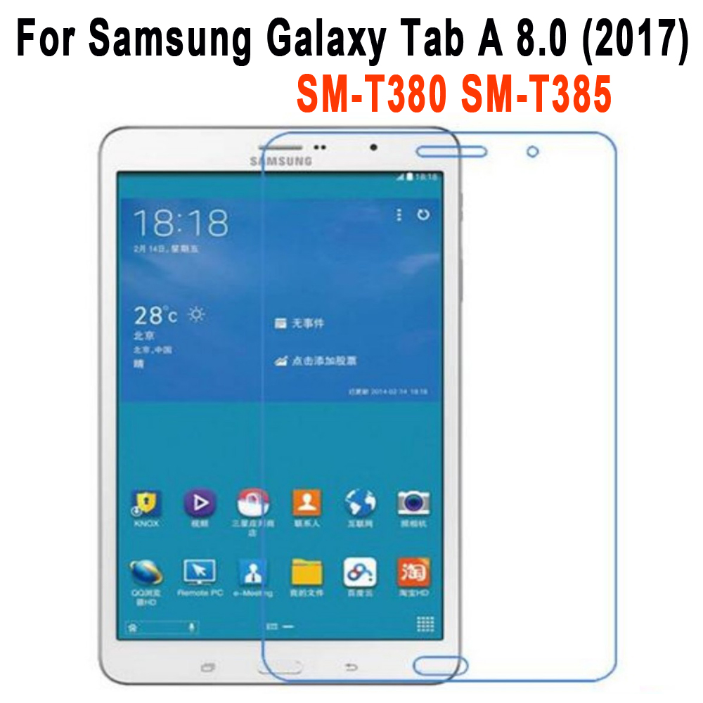 Tempered Glass Screen Protector For Samsung Galaxy Tab A 8.0 2017 T380 T385