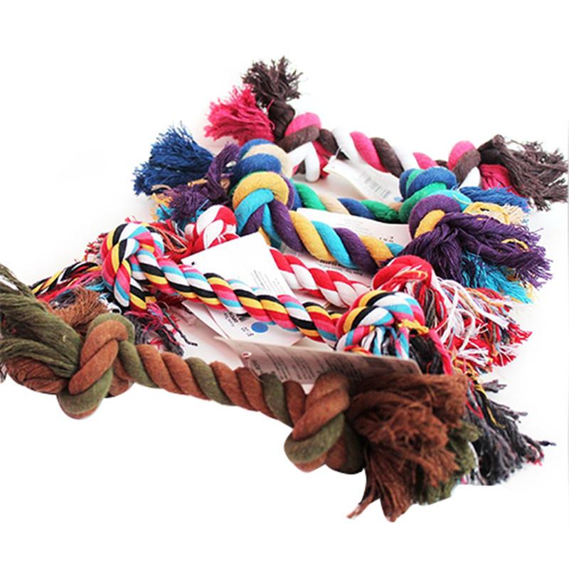 2015-New-New-Fashion-Puppy-Dog-Pet-Toy-Cotton-Braided-Bone-Rope-Chew-Knot-514J