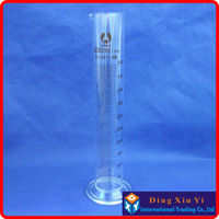 500ml Glass Graduated Cylinder Measuring Cylinder Measuring Graduates Glass Graduate