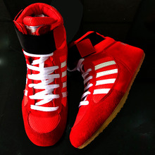 quality men Wrestling Shoes high boxing