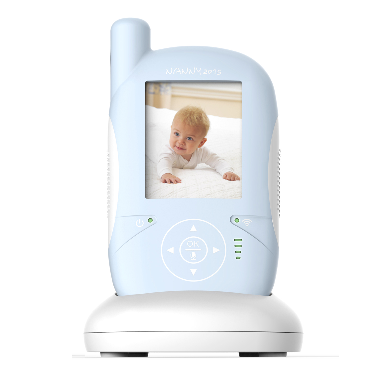 Wireless Video Monitor Security Camera Baby Kids LCD Screen 2 Way Talk Night Vision 2.4G IR LED Temperature BPA Free Hassle-Free