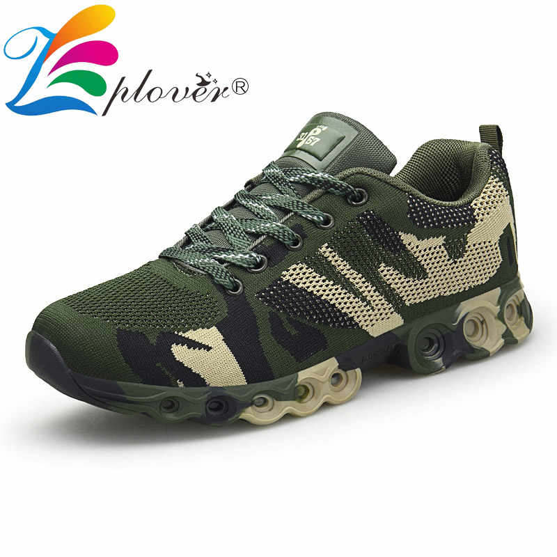 Large Size Men Casual Shoes Camouflage