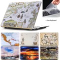 Marble Printing Texture Hard Case For apple Macbook Air 11 12 13 Pro 12 13 15 Retina laptop Bag Matte Oil Planet Cover