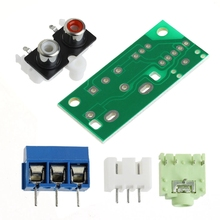Audio Switch Board RCA 3.5mm Audio Input Block For Amplifier Electronic DIY Kit