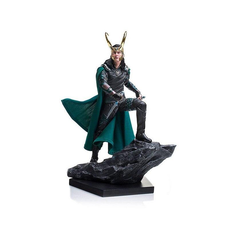 Thor Ragnarok PVC Action Figure Modèle Jouets Film Combats Loki Figuras Poupées Brinquedos Cadeau 25 cm
