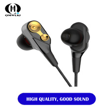 Universal 3.5mm In-Ear Stereo Wired Earbuds Music Earphone With Mic Gaming Headset For Computer Cell Phone For IPhone Xiaomi все цены