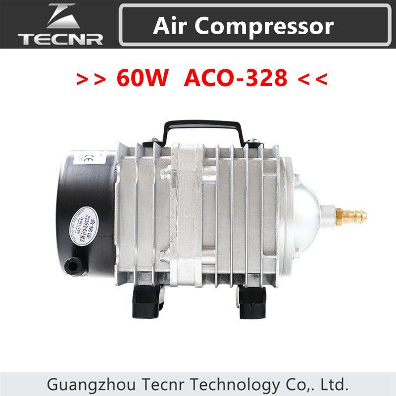 TECNR 60W Air Compressor Electrical Magnetic Air Pump 82L/min for CO2 laser machine ACO-328TECNR 60W Air Compressor Electrical Magnetic Air Pump 82L/min for CO2 laser machine ACO-328